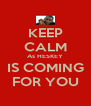 KEEP CALM As HESKEY IS COMING FOR YOU - Personalised Poster A4 size
