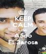 KEEP CALM As7ab  A5oo El 3arosa - Personalised Poster A4 size