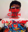 KEEP CALM B'CAUSE DA KAIGER IS #1  - Personalised Poster A4 size