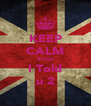 KEEP CALM B-Cuz I Told u 2 - Personalised Poster A4 size