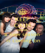KEEP CALM because a new season  is coming on - Personalised Poster A4 size