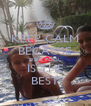 KEEP CALM BECAUSE BIBI'S POOL IS THE BEST - Personalised Poster A4 size