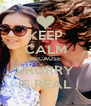 KEEP CALM BECAUSE BRURRY IS REAL - Personalised Poster A4 size