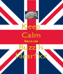Keep Calm Because Buzz Is Near!'xx - Personalised Poster A4 size