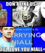 KEEP CALM BECAUSE CERYS IS MARRYING  NIALL - Personalised Poster A4 size