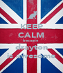 KEEP CALM because  drayton is awesome - Personalised Poster A4 size