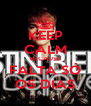KEEP CALM BECAUSE FALTA SÓ O5 DIAS - Personalised Poster A4 size