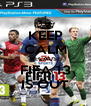 KEEP CALM BECAUSE FIFA 13 IS OUT - Personalised Poster A4 size