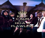 KEEP CALM BECAUSE HOA IS FLAWLESS - Personalised Poster A4 size