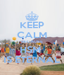 KEEP CALM BECAUSE HSM  IS ETERNAL - Personalised Poster A4 size