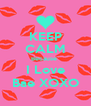 KEEP CALM Because  I Love Bae XOXO - Personalised Poster A4 size