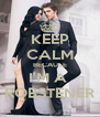 KEEP CALM BECAUSE I'M A  ROBSTENER - Personalised Poster A4 size