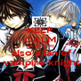 KEEP CALM  because I'm   also a fan of  vampire knight - Personalised Poster A4 size