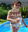 KEEP CALM because IM QIYAAM - Personalised Poster A4 size