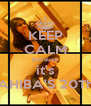 KEEP CALM because it's SAHIBA'S 20Th♥ - Personalised Poster A4 size