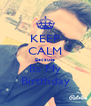 KEEP CALM Because Its My Birtthday - Personalised Poster A4 size