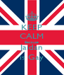 KEEP CALM Because Jaidan is Gay - Personalised Poster A4 size