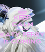 KEEP CALM because KATY PERRY is COMING - Personalised Poster A4 size