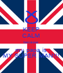 KEEP CALM because  my papa is MY SUPER MAN!!! - Personalised Poster A4 size