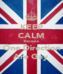 KEEP CALM Because One Direction Are Gay - Personalised Poster A4 size