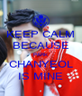 KEEP CALM BECAUSE PARK CHANYEOL IS MINE - Personalised Poster A4 size