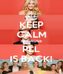 KEEP CALM BECAUSE PLL IS BACK! - Personalised Poster A4 size