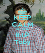 KEEP CALM Because R.I.P Toby - Personalised Poster A4 size