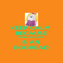 KEEP CALM  BECAUSE RITIKA SHARMA IS AN  EGGHEAD - Personalised Poster A4 size