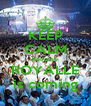 KEEP CALM because ROYALLE is coming - Personalised Poster A4 size