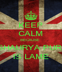 KEEP CALM BECAUSE  SHAURYA PURI IS LAME - Personalised Poster A4 size