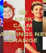KEEP CALM BECAUSE SOMETHINGS NEVER CHANGE - Personalised Poster A4 size