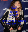 KEEP CALM BECAUSE STEVEN MAKES ME SMILE - Personalised Poster A4 size