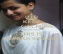 KEEP CALM BECAUSE THIS IS MUNIRA'S ROOM - Personalised Poster A4 size