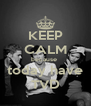 KEEP CALM because  today have TVD - Personalised Poster A4 size