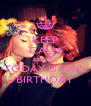 KEEP CALM BECAUSE TODAY IS Gila's BIRTHDAY - Personalised Poster A4 size