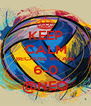 KEEP CALM BECAUSE WE ARE 6-0 @NEQ - Personalised Poster A4 size