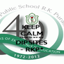 KEEP  CALM because we are DIPSITES - RKP* - Personalised Poster A4 size