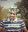 KEEP CALM Becuse I'm Ramy - Personalised Poster A4 size