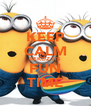 KEEP CALM BEKOZ ITS FUN TIME - Personalised Poster A4 size