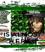 KEEP CALM BIKE WEEK IS ALMOST H.E.R.E.!! - Personalised Poster A4 size