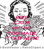 KEEP CALM BRITTANY YOU MADE IT OUT ALIVE - Personalised Poster A4 size