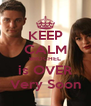 KEEP CALM BROCHEL is OVER Very Soon - Personalised Poster A4 size
