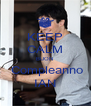 KEEP CALM BUON   Compleanno IAN - Personalised Poster A4 size