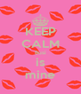KEEP CALM Busi is mine - Personalised Poster A4 size