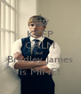KEEP CALM but  Bradley James is MINE! - Personalised Poster A4 size