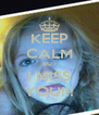 KEEP CALM BUT I MISS YOU!!! - Personalised Poster A4 size