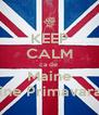 KEEP CALM ca de  Maine Vine Primavara!  - Personalised Poster A4 size