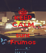 KEEP CALM ca sunt Frumos - Personalised Poster A4 size