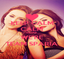 KEEP CALM CALM CAUSE WE'RE TEAM SPARIA - Personalised Poster A4 size