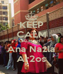 KEEP CALM CALM EH !! Ana Nazla Ar2os - Personalised Poster A4 size